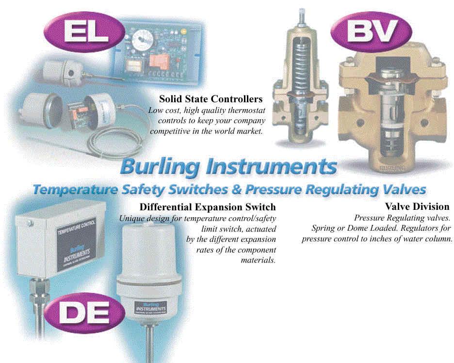 Burling Instrument ET-S Temperature Switch